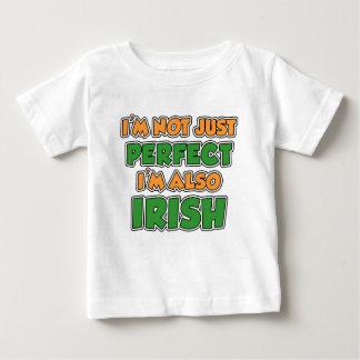 Not Just Perfect Irish Baby T-Shirt