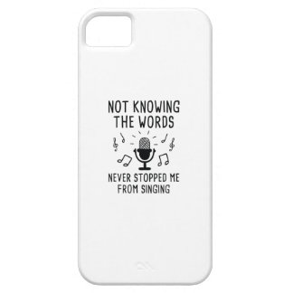 Not Knowing The Words Case For The iPhone 5