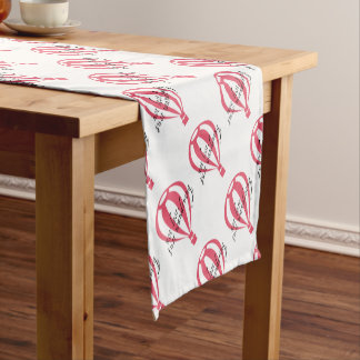 Not Lost, Just Wandering Travel Slogan Short Table Runner
