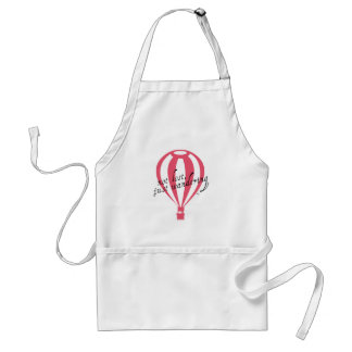 Not Lost, Just Wandering Travel Slogan Standard Apron