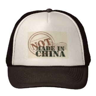 Not Made In China Hat