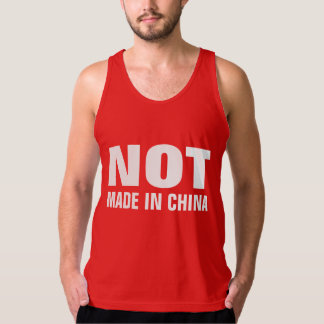 NOT Made in China Singlet