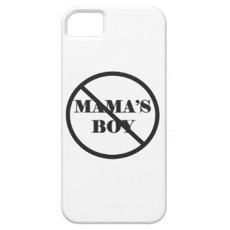 Not Mama's Boy phone case iPhone 5 Cover