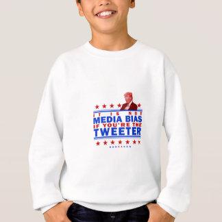 Not Media Bias Twitter Sweatshirt