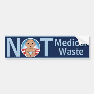 Not Medical Waste Bumper Sticker