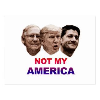Not My America Postcard