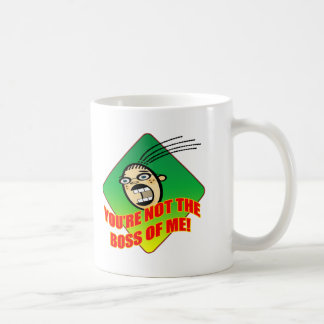 Not My Boss T-shirts and Gifts For Her Basic White Mug