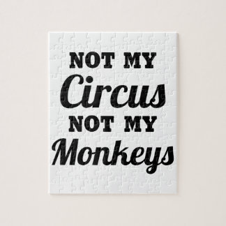 Not My Circus Jigsaw Puzzle