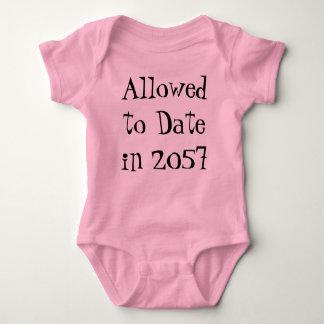 not my daughter baby bodysuit