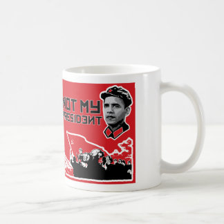 not my dear leader mug -right handed