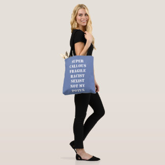 NOT my POTUS two-sided tote