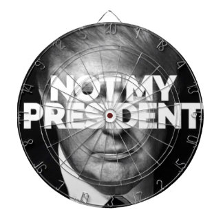 not my president dartboard