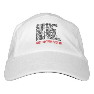 NOT MY PRESIDENT - DOUBLE FACED - HAT