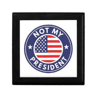 Not My President Gift Box
