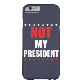 Not My President iPhone Case Cover