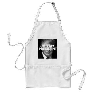 not my president standard apron