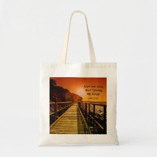 Not my will but Yours be done Luke 22:42 Scripture Tote Bag