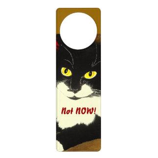Not Now! Door Hanger