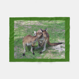 Not Now Skippy Fleece Blanket