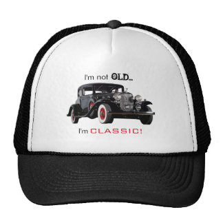 Not Old But Classic Vintage Car Funny Cap