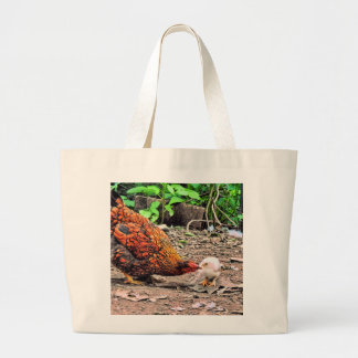 Not One Peep Out Of You! Large Tote Bag