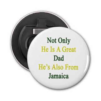 Not Only He Is A Great Dad He's Also From Jamaica.