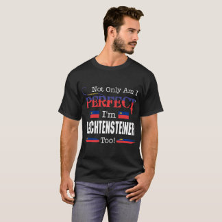 Not Only Perfect Liechtensteiner Too Pride Country T-Shirt