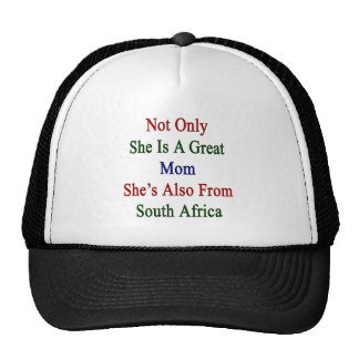 Not Only She Is A Great Mom She's Also From South Cap