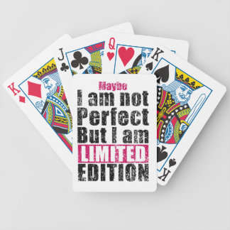Not perfect but limited edition bicycle playing cards