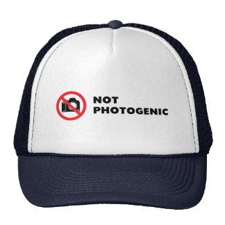 Not Photogenic - Do Not Photograph Sign Cap