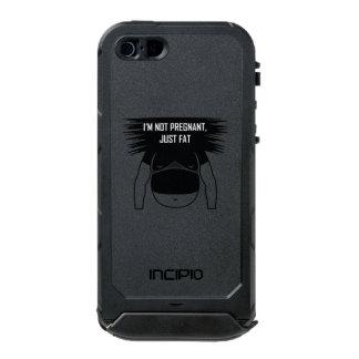 Not pregnant, just fat incipio ATLAS ID™ iPhone 5 case