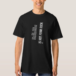 Not Punk Rock T-Shirt