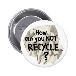 Not Recycle Button