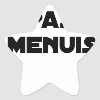 Not reduced carpenter - Word games Star Sticker
