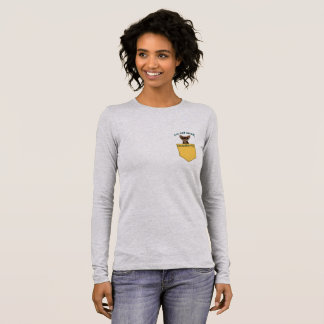 Not Small... Pocket Size Long Sleeve T-Shirt (1)