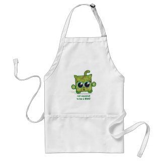 Not Squared to be a Brat Adult Apron