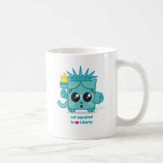 Not Squared to LOVE Liberty Coffee Mug