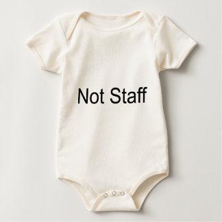 Not Staff Baby Bodysuit