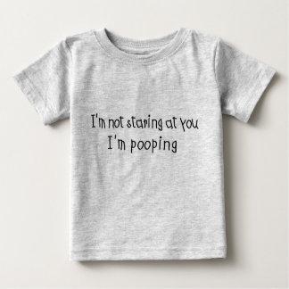 Not Staring I'm Pooping Baby T-Shirt