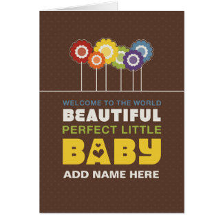 Not Straight Design - Perfect Little Baby card