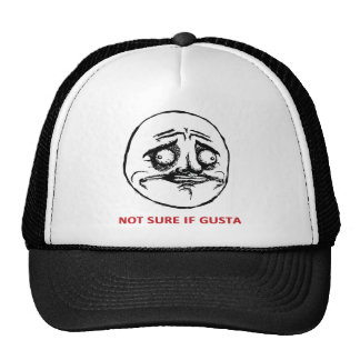 Not Sure If Gusta - Hat