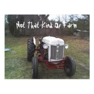 Not That Kind Of Farm Postcard