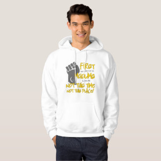 Not This Place Men's Basic Hoodie