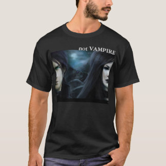 not VAMPIRE: Alien (Dark Colors) T-Shirt