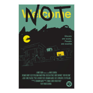 "Not Welcome - Movie Poster - 27"" x 41"""