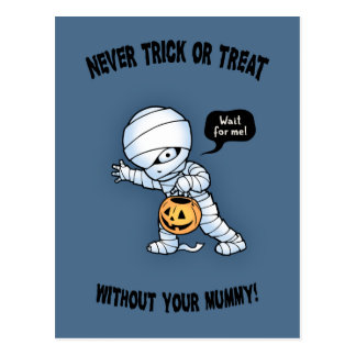 Not Without Mummy Postcard