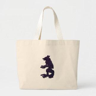 Not Your Average Grandma Large Tote Bag