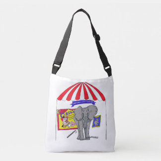 Not Your Entertainment Circus Elephant Bag