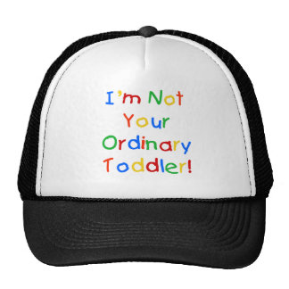 NOT YOUR ORDINARY CAP