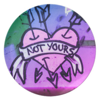 Not Yours Plate